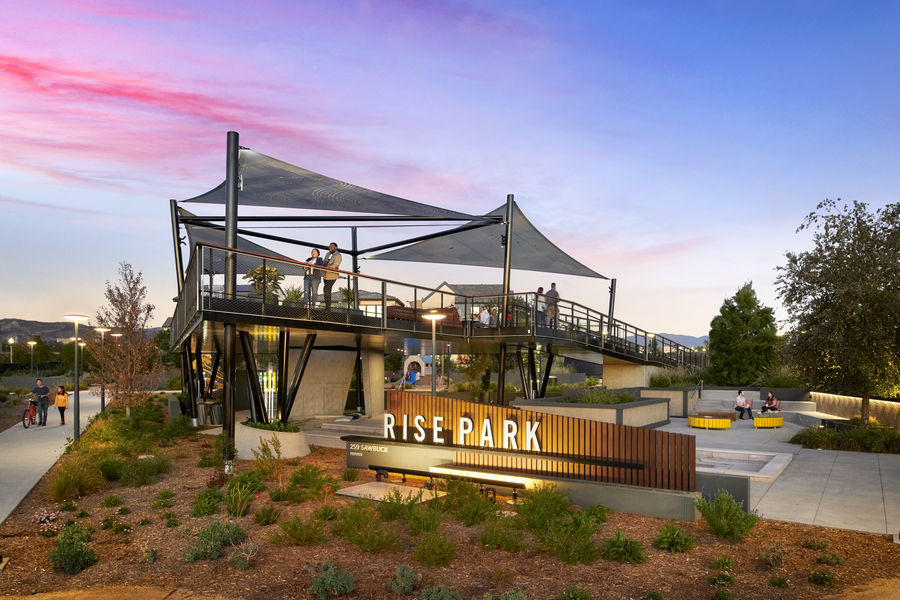 Rise Park At Great Park Neighborhoods Takes Top Honors In The 2021 Gold Nugget Awards