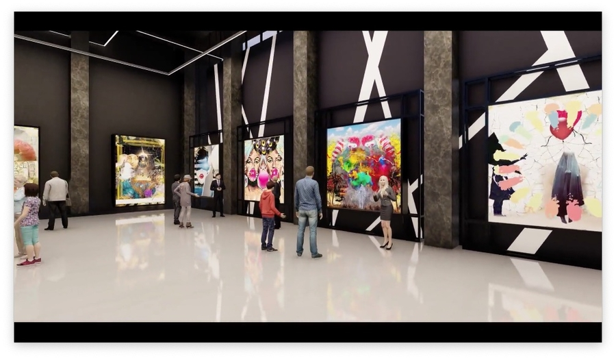 Virtual Galleries Allow Remote Access to NFT Art Collections – The Museum of Modern Pimptronot, NFT Digital Art Gallery Drop, and the Louvre Museum in Paris