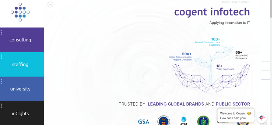 Cogent Infotech Launches a New Website to Streamline Operations and Customer Experience