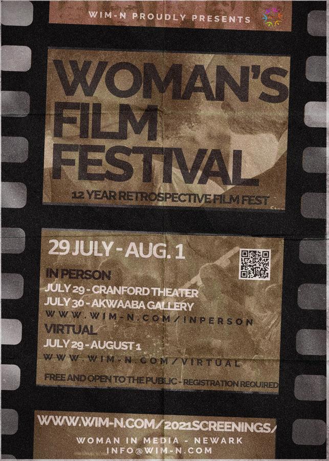 Woman in Media-Newark Hosts Its 12th Annual International Film Festival In Celebration of Women