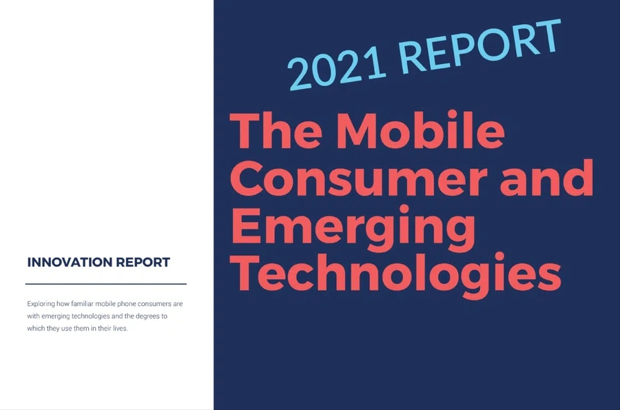 Report Highlights Results of Survey Gauging Mobile Consumers' Familiarity with Emerging Technologies Like Artificial Intelligence and Augmented Reality