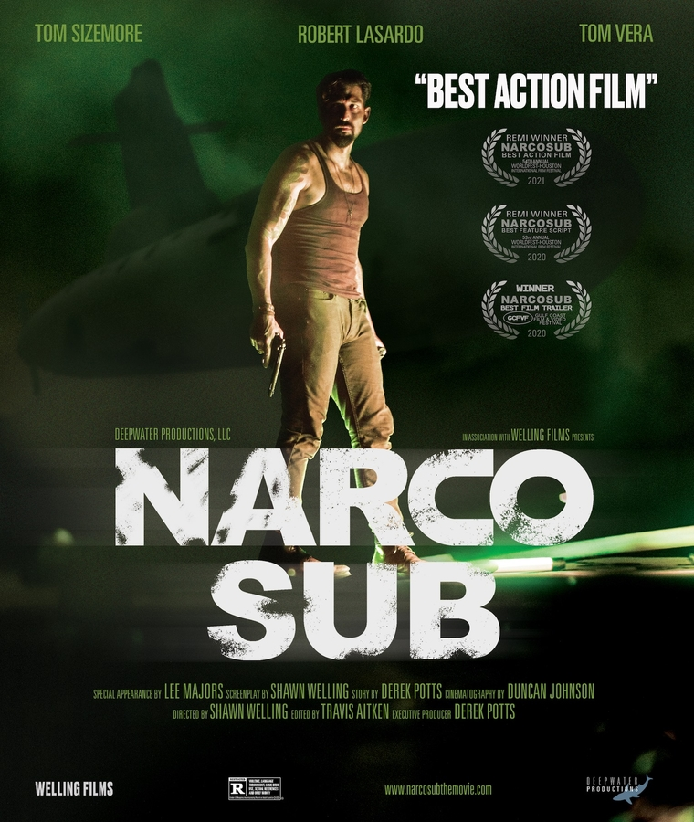 """Narco Sub"" Action / Adventure film – Free tickets via VetTix at Fort Benning"
