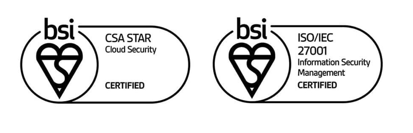 Condeco Acquires Prestigious ISO and Cloud Security Alliance Star Certification