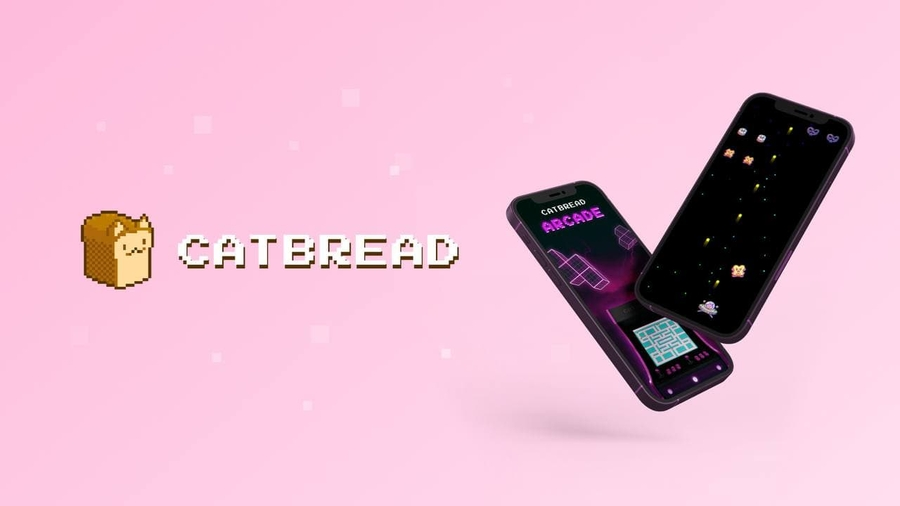 CatBread | Retro Arcade Games With Minting NFTs And Improved Tokenomics