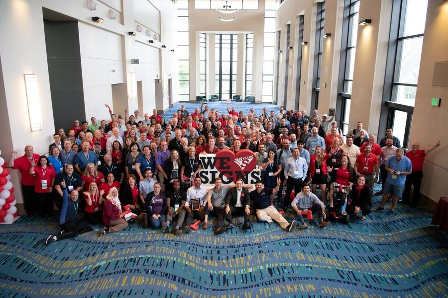 Signarama® Celebrates Major Milestones During World Expo Event