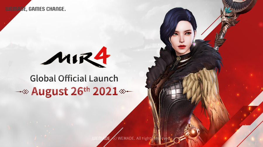 Wemade Co., Ltd. Announces Global Grand Opening of Mir 4