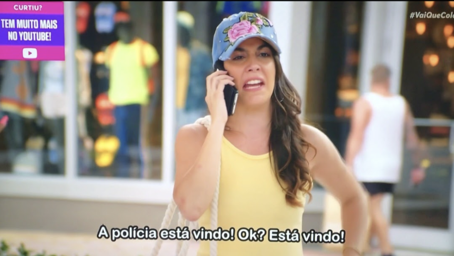 Paula Soveral Keeps Working During the Pandemic After Starring in the Major Brazilian Sitcom, Vai Que Cola!