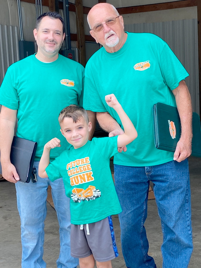 College HUNKS Hauling Junk and Moving® is Coming to Statesville