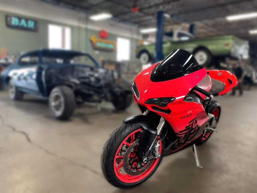 Compass Brings Transformers Ducati to Auction for Charity