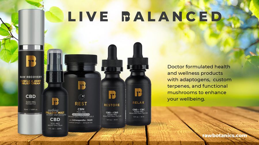 The Raw Botanics Co. Joins Forces with Prima, PlantPeople and Other Industry Leaders to Stop CBD Censoring