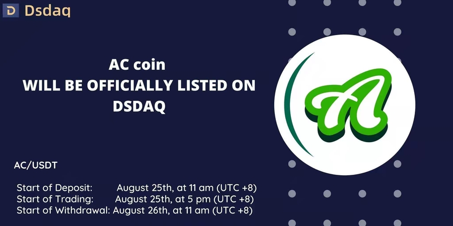 American Coin Starts Trading on Dsdaq Exchange