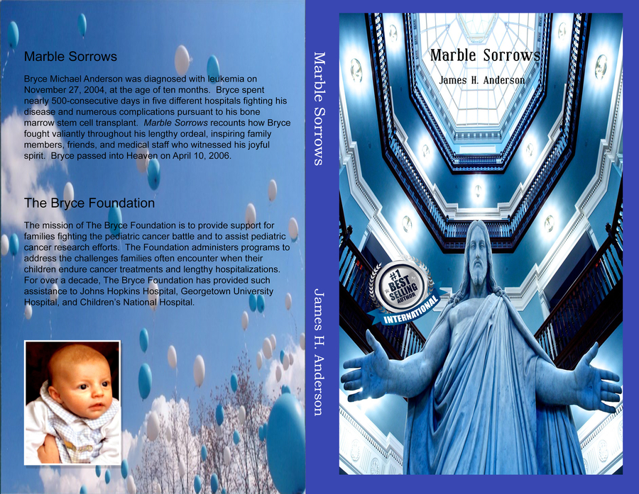"""James H. Anderson's book """"Marble Sorrows"""" Becomes A Best Seller!"""