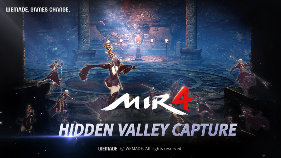 """Wemade's MMORPG """"MIR4"""" to Carry Out Its First Large-Scale Update in September"""