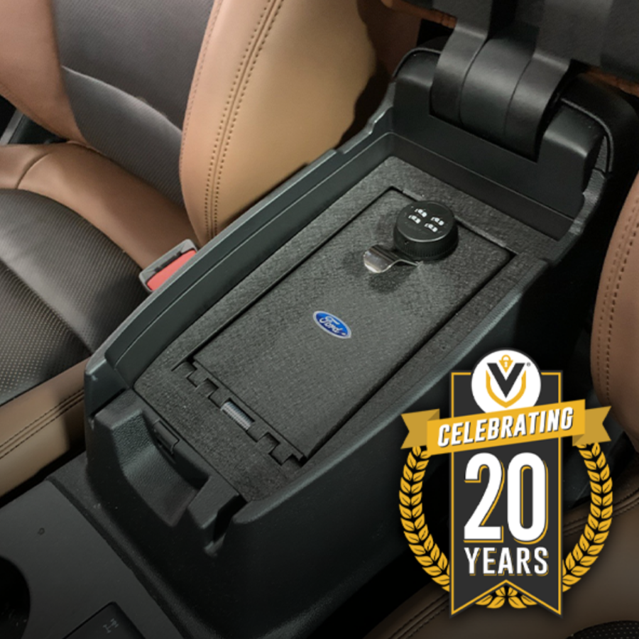 Console Vault®, The Original In-Vehicle Safe® Marks Landmark Date at 20 Years