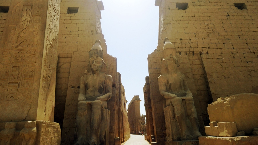 The Resurgence Of The Holy Temple Of Ra Originally Located In Karnak Of Ancient Egypt