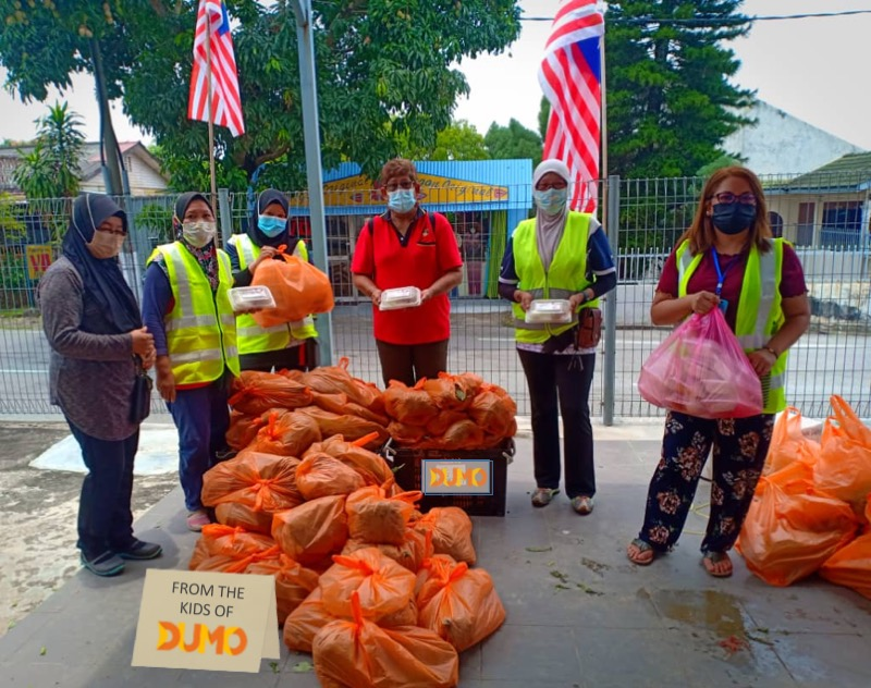Kids Chip In to Send Food Aid to The Needy
