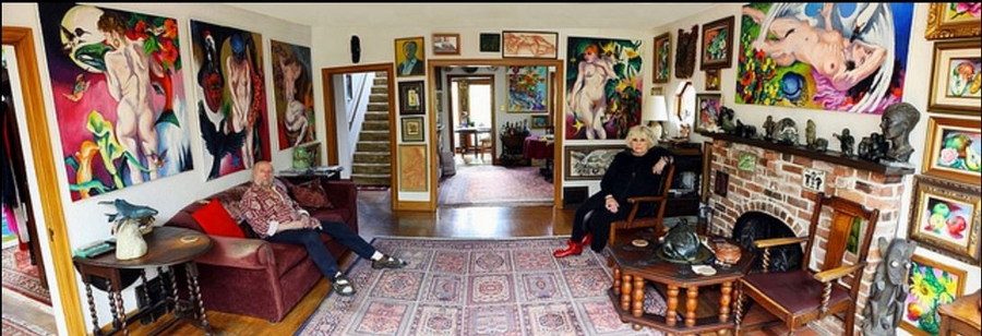 Renowned Vancouver Artist, Frank Molnar Passes & His Original Art Up for Auction