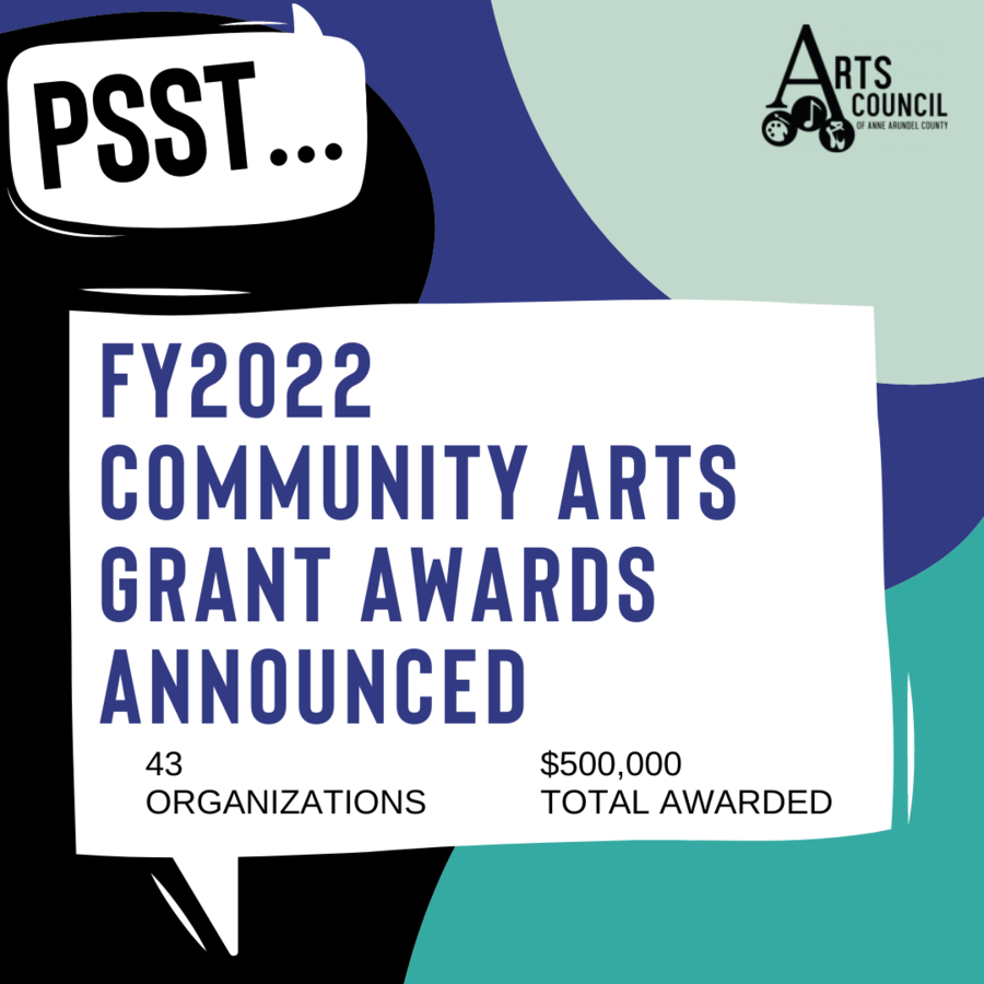 Arts Council of Anne Arundel County Awards $500,000 to Local Businesses