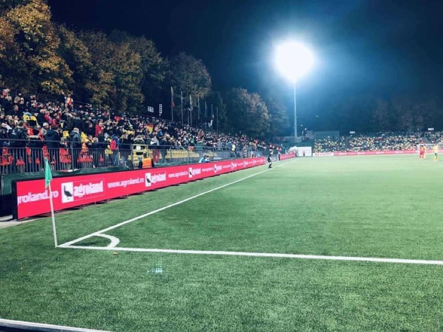 YUCHIP Splendid Stadium LED Screen In Romania