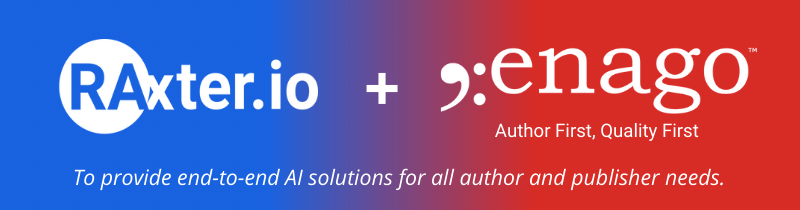 Enago Acquires US-based RAx Labs Inc. – to Provide End-to-End AI Solutions for all Author and Publisher Needs