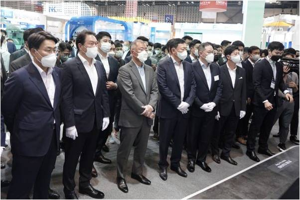 Advanced Technology of Hydrogen Mobility at a Glance! H2 Mobility+Energy Show 2021, Korea's Largest Hydrogen Mobility Show, Grand Opens