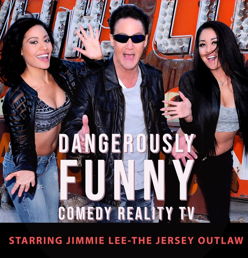 Jimmie Lee-The Jersey Outlaw has the cure for Covid with Comedy TV Show, Dangerously Funny
