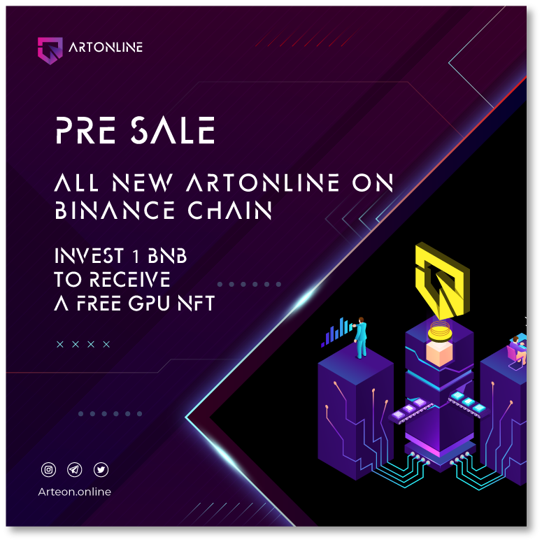 ARTonline | NFT-Oriented Mining Setup With No-Restrictions Staking Solution