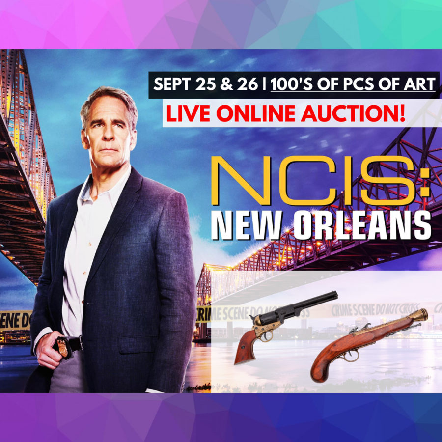 NCIS: New Orleans Auction & Support for Hurricane Relief Liquidating Set Dec & Art