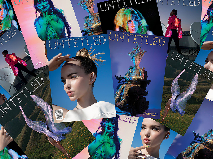 """The Untitled Magazine's """"INNOVATE"""" Issue Collector Print Edition Featuring Dove Cameron, Duran Duran, Nessa Barrett & More Releases in the US"""