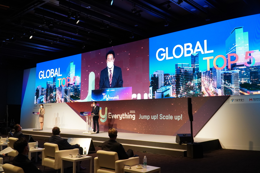 Held Global Startup Grand Festival, 'Try Everything 2021'… Leading the Growing Atmosphere of the Startup Ecosystem