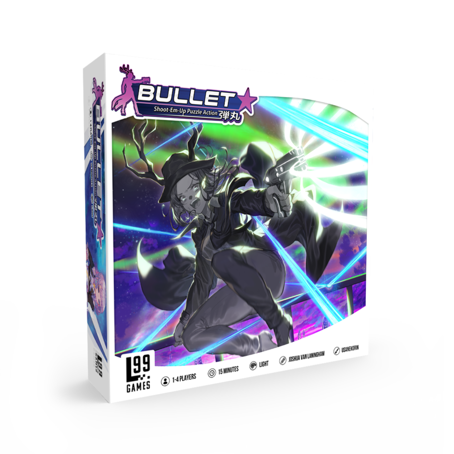 SHMUP & Match-3-Inspired Board Game Bullet Star Now Available for Pre-Order