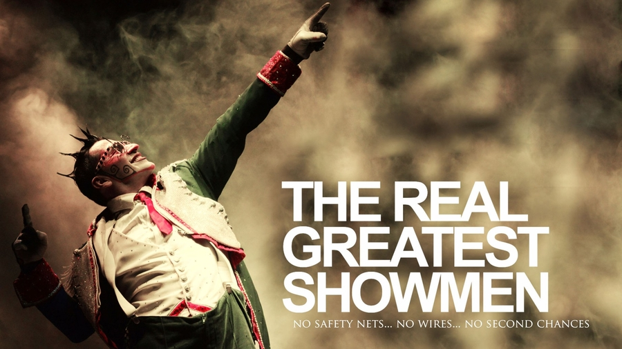 """Explore the Extreme Circus Industry with """"The Real Greatest Showmen"""" TV Series Launching on Vyre Network Oct 5th."""