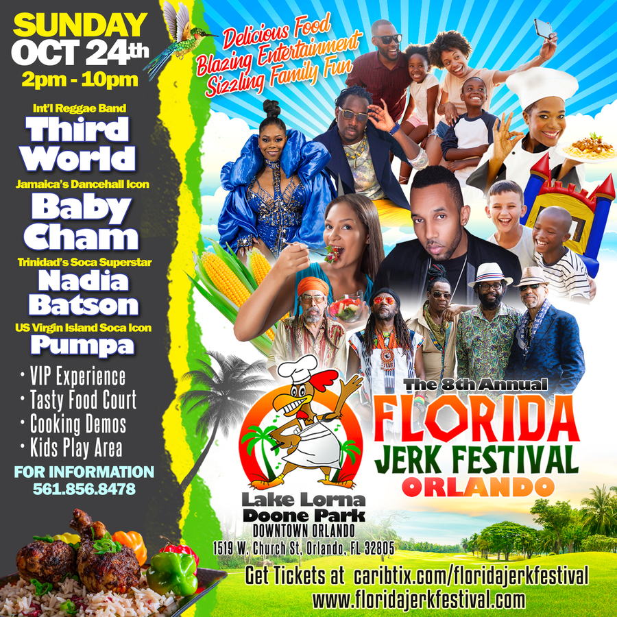 The 8th Annual Florida Jerk Festival: Orlando Edition is a Family-Friendly Event for All Ages