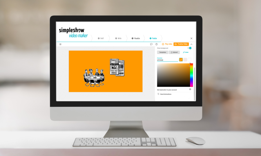 simpleshow Adds more CI Capabilities To Its Video Maker