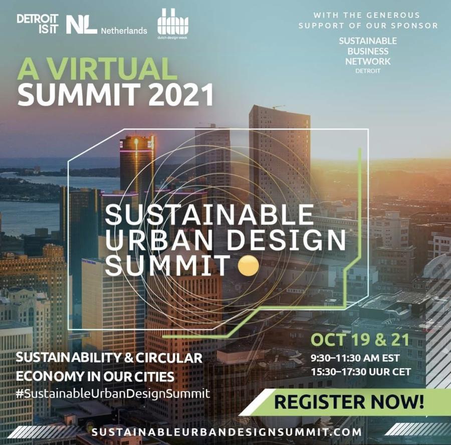 Detroitisit hosts Sustainable Urban Design Summit in partnership with the Netherlands during Dutch Design Week