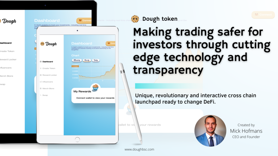 DOUGH | All-Acess Interactive Launchpad with a Unique In-built Tokenomics System