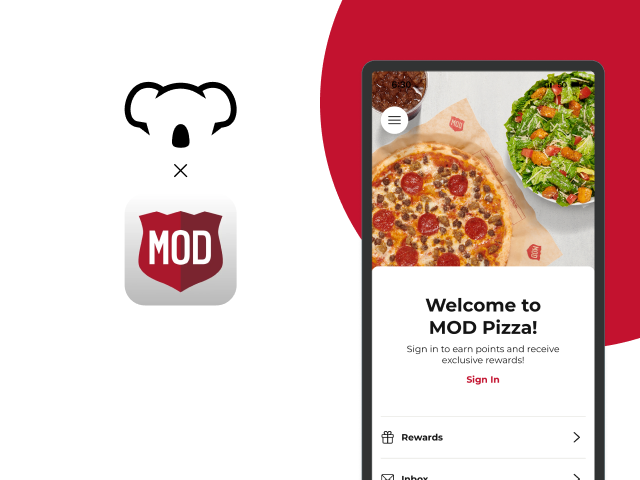 Koala Launches New Integrated iOS App for MOD Pizza