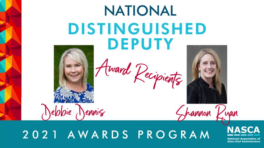 Oregon's Debbie Dennis and Shannon Ryan Receive NASCA's National Distinguished Deputy Award