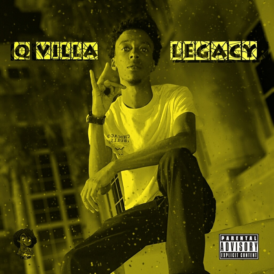 Rapper Q.Villa To Release New Music Album Legacy In Honor of Loved Ones Who've Passed Away