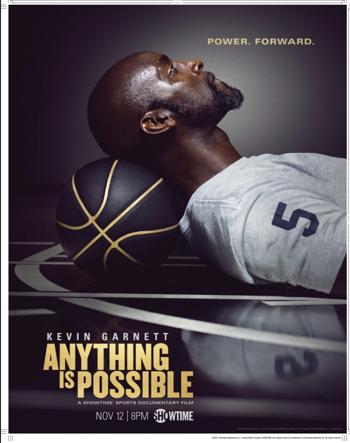 """BLOWBACK is BACK with """"Kevin Garnett: Anything is Possible"""" Showtime Documentary"""