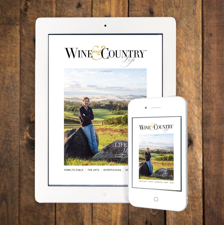 Wine & Country Life Magazine Celebrates Virginia Wine Month
