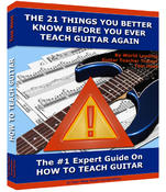 <strong>Tom Hess releases a guitar teaching eCourse that shows guitar teachers how to become highly effective at teaching guitar to their students.</strong>
